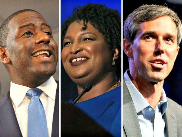 Losers Gillum, Abrams, O'Rourke