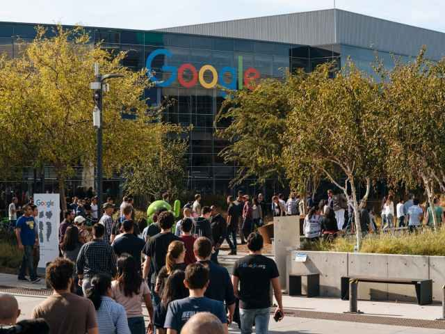 Google HQ walkout