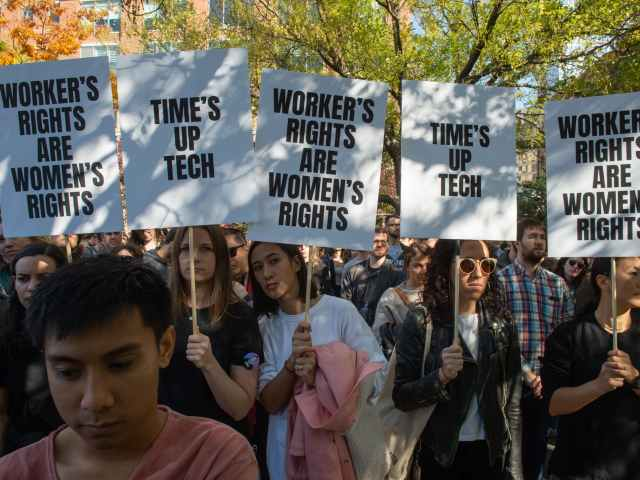 Google walkout protest