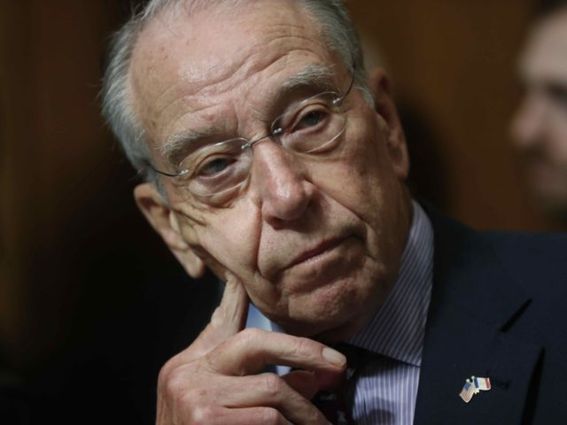 Grassley (Pablo Martinez Monsivais / Associated Press)