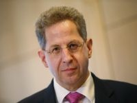 BERLIN, GERMANY - MAY 04: Hans-Georg Maassen, President of the Federal Office for the Protection of the Constitution (Bundesamt fuer Verfassungsschutz), speaks to the media while attending a symposium on Islamist Terror in Europe on May 4, 2015 in Berlin, Germany. The symposium is taking place in the wake of …