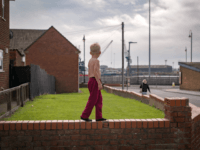 HARTLEPOOL, ENGLAND - SEPTEMBER 04: Children play on the streets of the Headlands area of Hartlepool on September 4, 2017 in Hartlepool, England. Hartlepool in the North East of England is one of the many coastal towns lagging behind inland areas with some of the worst levels of economic and …
