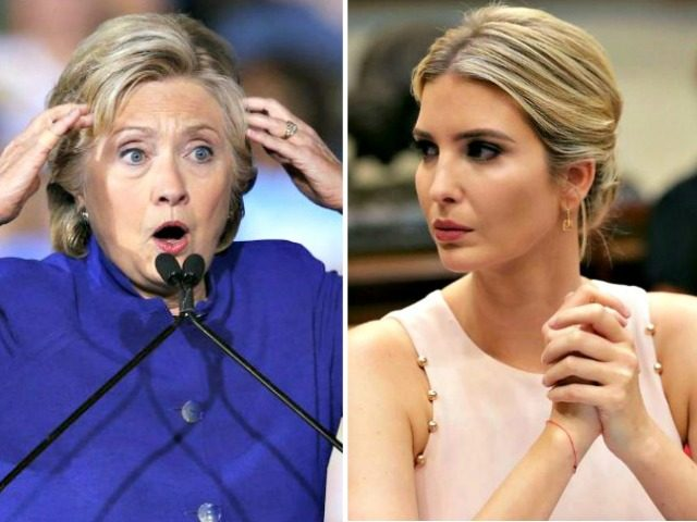 Ivanka Trump denies comparisons with Hillary Clinton over private email use