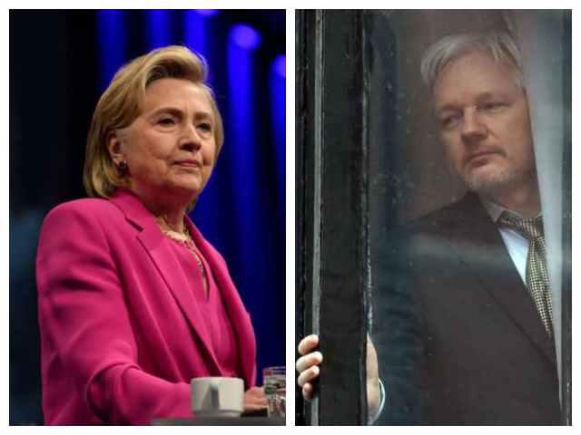Nolan: The DOJ Charging Julian Assange Underscores the Special Treatment of Hillary Clinton | Breitbart