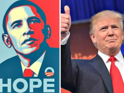 Hope Poster,Trump-Thumb Up Getty