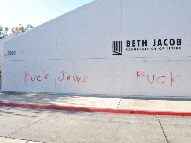 Irvine synagogue (Allen Berezovsky / Getty)