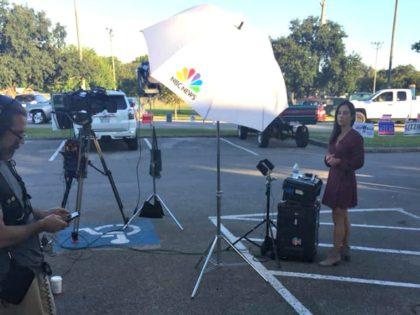 MSNBC Uses Disabled Parking Spot