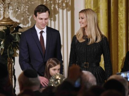 Jared Kushner and Ivanka Trump (Olivier Douliery / Getty)