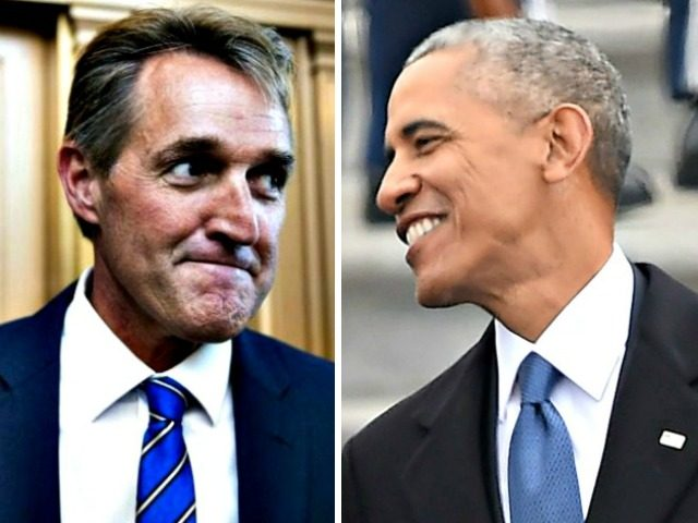 Jeff Flake, Barack Obama