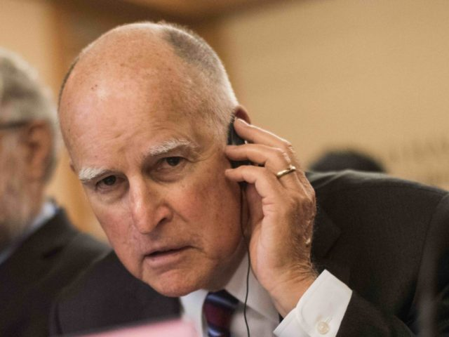 Jerry Brown (Fred Dufour / AFP / Getty)