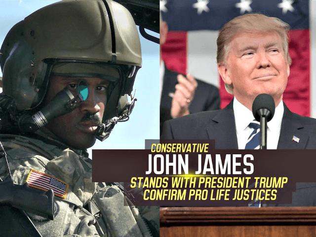 John James, Trump Ad YouTube