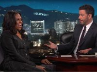 Jimmy Kimmel Begs Michelle Obama to 'Save Us' from Trump