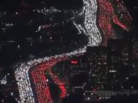 Watch: Los Angeles Freeway Paralyzed by Bumper-to-Bumper Thanksgiving Traffic