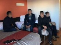 Laredo Sector agents find ten illegal aliens packed into motel stash house. (Photo: U.S. Border Patrol/Laredo Sector)