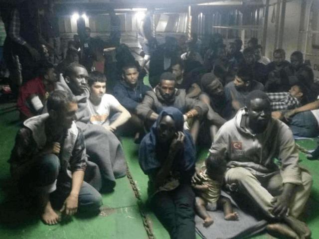 Libya Migrant Ship