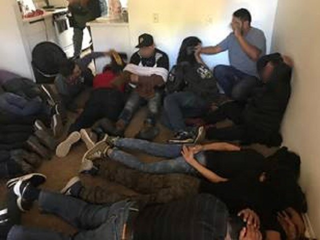 San Diego Border Patrol officials find large groups of migrants in human smuggling stash houses. (Photo: U.S. Border Patrol/San Diego Sector)