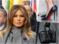 Fashion Notes: In Paris, Melania Trump is One Style Step Ahead Until the End