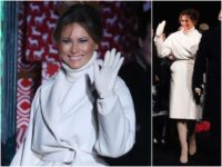 First Lady Melania Trump is ready for a white Christmas …