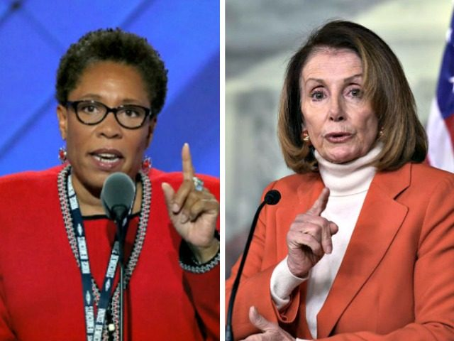 Marcia Fudge, Nancy Pelosi