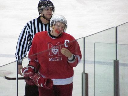 McGill Redmen hockey player