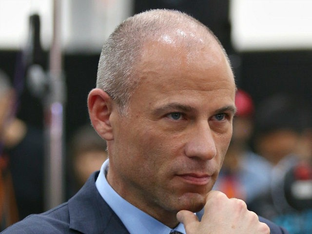 LOS ANGELES, CA - OCTOBER 20: Michael Avenatti attends Politicon 2018 at Los Angeles Convention Center on October 20, 2018 in Los Angeles, California. (Photo by Phillip Faraone/Getty Images for Politicon)