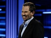 SANTA BARBARA, CA - NOVEMBER 6: Comedian Dennis Miller presents his new weekly series 'Sports Unfiltered With Dennis Miller' at Stage 9 Studios November 6, 2007 in Santa Barbara, California. (Photo by Amanda Edwards/Getty Images for Versus)
