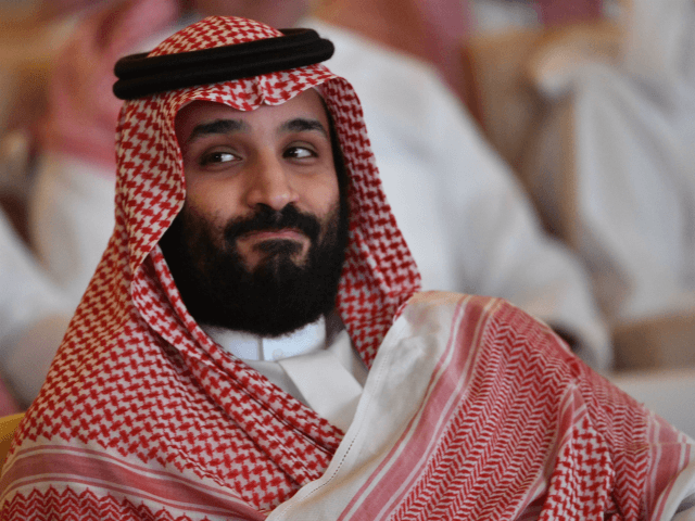 Saudi Crown Prince Mohammed bin Salman attends the Future Investment Initiative (FII) conference in the Saudi capital Riyadh on October 23, 2018. - Saudi Arabia is hosting the key investment summit overshadowed by the killing of critic Jamal Khashoggi that has prompted a wave of policymakers and corporate giants to …