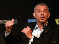 Israeli politician former Likud minister and head the Kulanu party, Moshe Kahlon, delivers a speech during a debate on economy on March 11, 2015 in the coastal Israeli city of Tel Aviv. Six days before Israel votes in a snap general election, the centre-left Zionist Union opened a lead of …