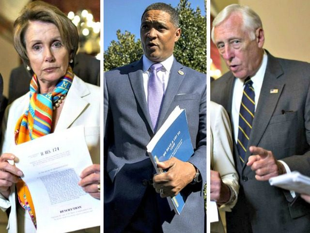 Nancy Pelosi, Cedrick Richmond, Steny Hoyer