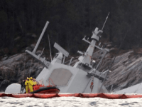 Norwegian Warship Rammed by Oil Tanker Sinks After Five Days