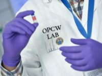 Western powers are lobbying frantically to win support for moves to empower the world's chemical weapons watchdog (OPCW)