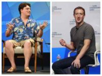Palmer Luckey and Facebook CEO Mark Zuckerberg