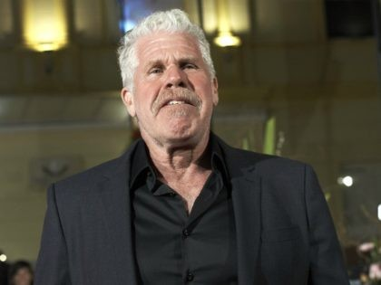 MALAGA, SPAIN - APRIL 15: Actor Ron Perlman attends 'No Dormiras' premiere at the Cervantes Theater on April 15, 2018 in Malaga, Spain. (Photo by Carlos Alvarez/Getty Images)