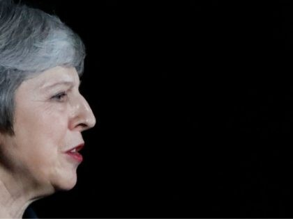 Britain's Prime Minister Theresa May gives a statement outside 10 Downing Street in London on November 14, 2018, after holding a cabinet meeting where ministers were expected to either back the draft bexit deal or quit. - British Prime Minister Theresa May defended her anguished draft divorce deal with the …