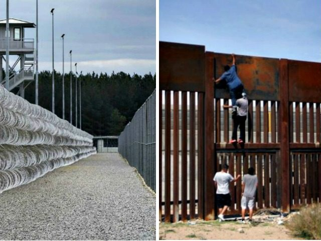 Prison, Border Wall Climbers