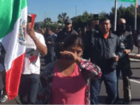 Mexican Protesters in Tijuana March to Kick Out Migrant Caravan