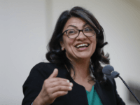 Rashida Tlaib, Democratic candidate for Michigan's 13th Congressional District, speaks at a rally in Dearborn, Mich., Friday, Oct. 26, 2018. (AP Photo/Paul Sancya)