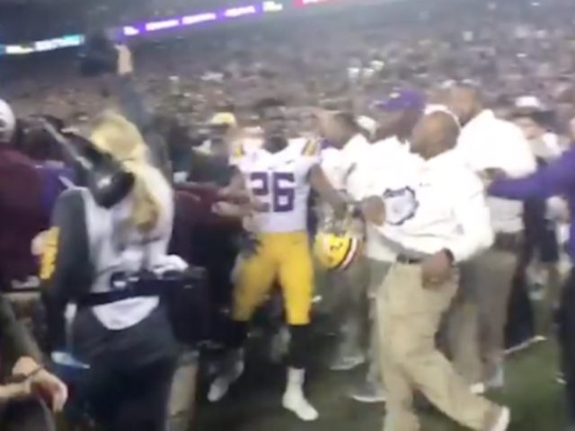 LSU Gives Premature Gatorade Bath, Texas A&M Ties Game