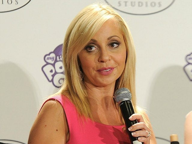 Actress Tara Strong, who posted a video of herself harassing an Uber driver
