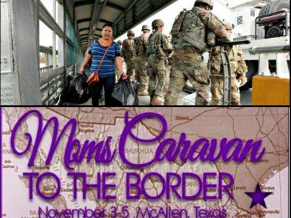 Texas-Mexico Border, Moms Caravan to the Border
