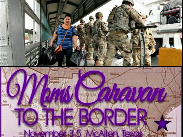 Texas-Mexico Border, Moms Caravan to the Border
