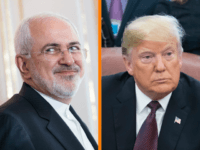 Iran's Foreign Minister Mohammad Javad Zarif reacted with surprise and attempted satire Tuesday after U.S. President Donald Trump said he would stick by Saudi Arabia despite allegations over the murder of journalist Jamal Khashoggi.