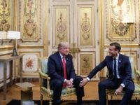 Caroline Glick: A Desperate Emmanuel Macron Attacks Donald Trump