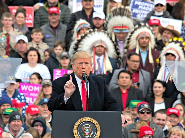 Trump, at Montana rally, cites booming economy