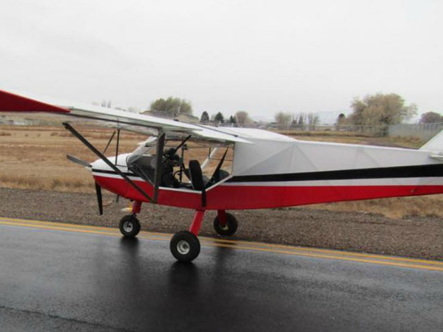 """Uintah County Sheriff's Office said that two boys, 14 and 15, allegedly stole """"a fixed-wing, single engine light sport aircraft"""" off a private runway on Thursday. (Uintah County Sheriff's Office)"""