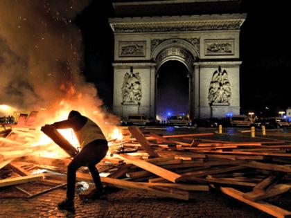Yellow Jacket Paris Protest