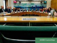 Mark Zuckerberg Chair at UK Facebook Hearing