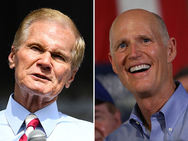 Possible recounts loom in tight Florida senate and governor contests