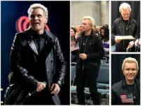 English Rock Star Billy Idol Celebrates Becoming a U.S. Citizen