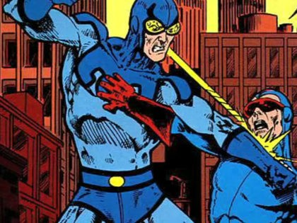 Super Hero Blue Beetle